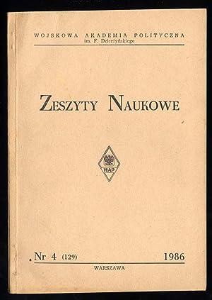 Zeszyty Naukowe./Nr 4 (129) (1986).