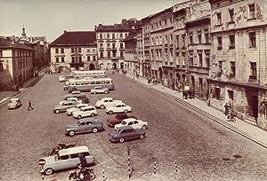 Krakow. Maly Rynek z zabytkowymi kamieniczkami 26-3043: Tadeusz Bilinski