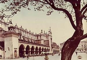 Krakow. Gotycko-renesansowe Sukiennice na Rynku Glownym 26-3042: Tadeusz Bilinski