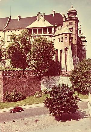 Krakow. Fragment Zamku Wawelskiego - Kurza Stopka: Tadeusz Bilinski