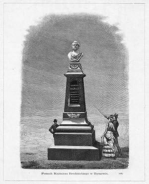 Pomnik Kazmirza Brodzinskiego w Tarnowie. (445): Monogramista J. K.