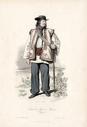 Ruthenischer Bauer aus Marmaros (Ungarn).: August Weger wg