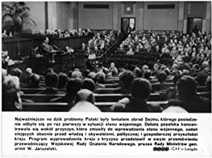 Najwazniejsze na dzis problemy Poslki byly tematem: Cezary Marek Langda