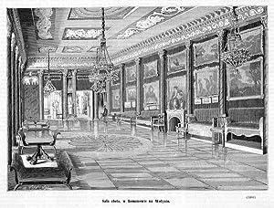 Sala zlota, w Romanowie na Wolyniu. (3466): Marceli Wisniewski