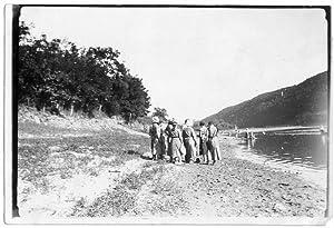 """Obozy"""" Uscieczko - nad Dniestrem dn. 19.VIII.1936r."""