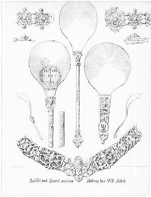 Löffel und Gürtel aus dem Anfang des: Wg Bernhard Mannfeld