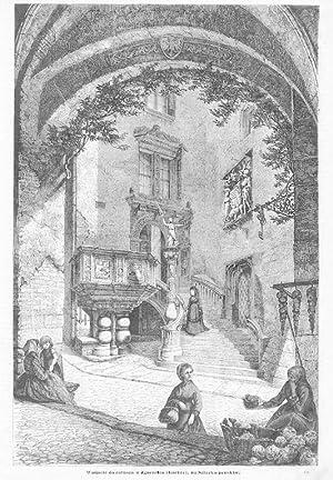 Wnijscie do ratusza w Zgorzelcu (Görlitz), na: Wg Bernhard Mannfeld