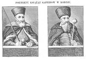 PORTRETY KSIAZAT SAPIEHOW W KODNIU. IOANNES PRIM,: Julian Schübeler