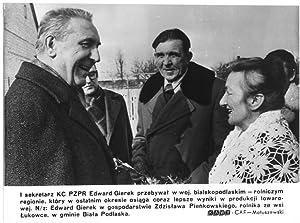 I sekretarz KC PZPR Edward Gierek przebywal: Zbigniew Matuszewski