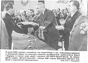 Z okazji XXX rocznicy wyzwolenia woj. katowickiego: Zbigniew Matuszewski