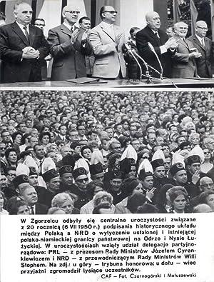 W Zgorzelcu odbyly sie centralne uroczystosci zwiazane: Stanislaw Czarnogorski i