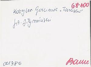 "Gosciniec ""Tarlisko""]: Jan Tyminski"