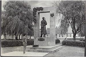 Margonin. Pomnik poswiecony powstancom wielkopolskim i zolnierzom: Kupczyk