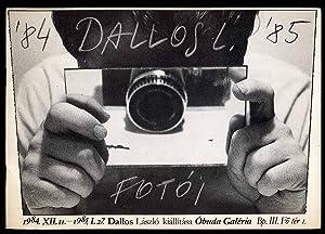 1984.XII.11 ? 1985.I.27. Dallos Lászlo kiállítása Obuda