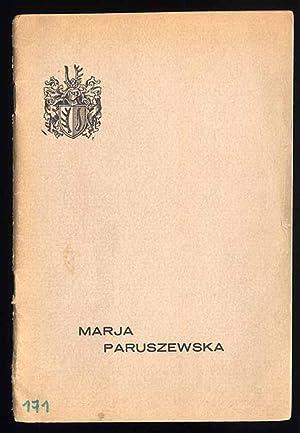 """Ostoja"""" Marji Paruszewskiej w Poznaniu.: Belcikowski Jan:"""