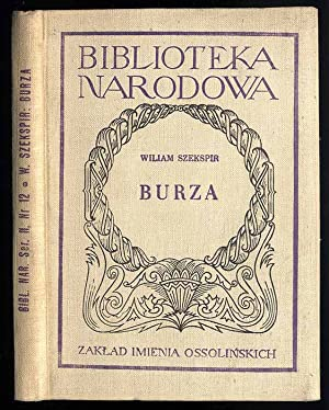 Burza./The Tempest.: Szekspir William: