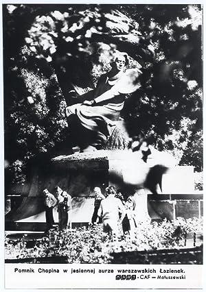 Pomnik Chopina w jesiennej aurze warszawskich Lazienek.: Zbigniew Matuszewski
