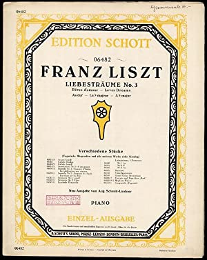 Liebesträume. O Lieb'./Tytul okladkowy: Liebesträume No. 3.: Liszt Franz (muzyka):
