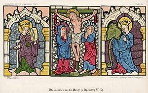 Glasmalerein aus der Kirche zu Sponsberg. XV.: Bernhard Mannfeld