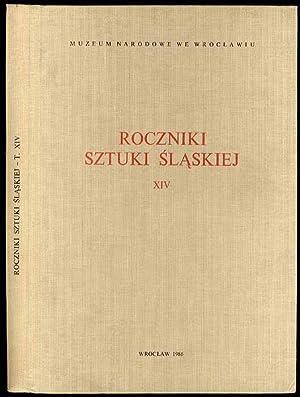 Roczniki Sztuki Slaskiej. R.14 (1986).