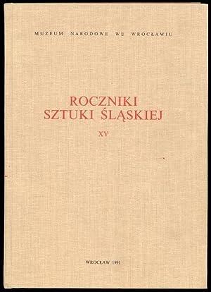 Roczniki Sztuki Slaskiej. R.15 (1991).