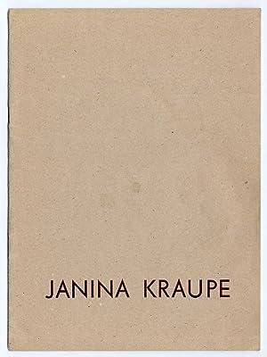 """Transmutacje XIII"""" in / w: Janina Kraupe. Malarstwo Rysunek 1981-1985 maj-czerwiec 1985. ..."""