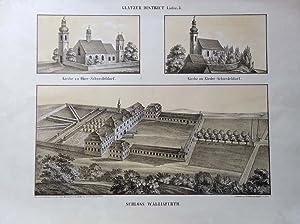 GLATZER DISTRICT Liefer: 3. Kirche zu Ober-Schwedeldorf.: Otto Pompejus wg