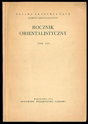 Rocznik Orientalistyczny. T.29 (1971).