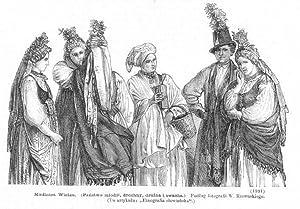 Modlnica Wielka. (Panstwo mlodzi, druchny, druzba i: Wg Wojciecha Gersona