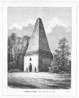 Grobowiec w Krupem. [.] (194): Jan Krajewski wg