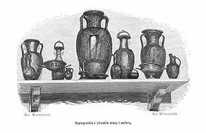 Starogreckie i etruskie wazy i amfory.: Kazimierz Mrowczynski wg