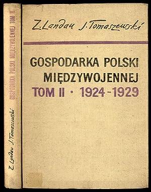 Od Grabskiego do Pilsudskiego. Okres kryzysu poinflacyjnego: Landau Zbigniew, Tomaszewski
