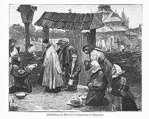 Einweihung der Ostereier bei Chmelowa in Ostgalizien.: Wg Teodora Axentowicza