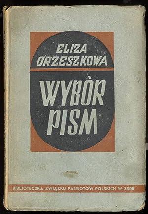 Wybor pism.: Orzeszkowa Eliza: