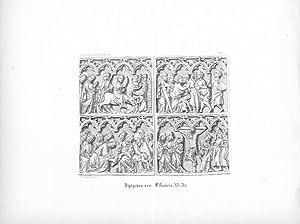 Diptychon von Elfenbein. XIV Jh.: Bernhard Mannfeld