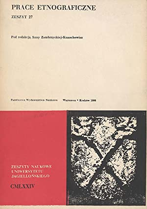 Prace Etnograficzne. Z.27 (1990).