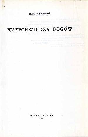 Wszechwiedza Bogow./L'onniscienza di dio.: Pettazzoni Raffaele: