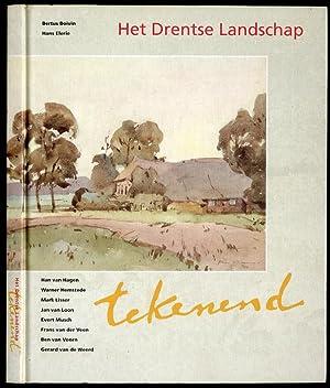 Het Drentse Landschap tekenend. Han van Hagen.: Boivin Bertus, Elerie