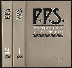 P.P.S. Wspomnienia z lat 1918-1939. 2t.