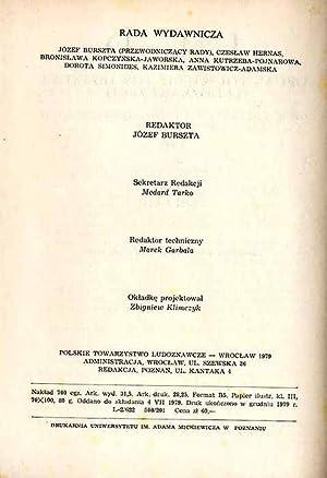 Lud. Rocznik Polskiego Towarzystwa Ludoznawczego. T.63 (1979).