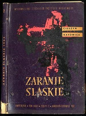 Zaranie Slaskie. Kwartalnik. R.27 (1964). Z.2 (IV-VI