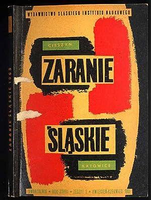 Zaranie Slaskie. Kwartalnik. R.28 (1965). Z.2 (IV-VI