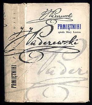 Pamietniki./The Paderewski memoirs.: Paderewski Ignacy J.: