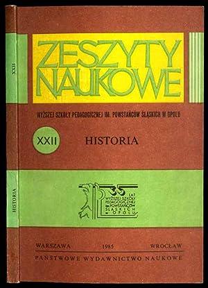 Historia XIX i XX wieku. Studia i