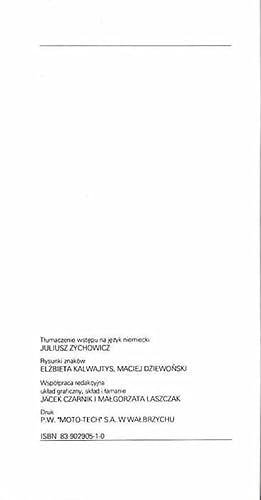 Znaki firmowe fabryk porcelany i fajansu na Slasku w Wielkopolsce i na Pomorzu od roku 1795 do dnia...