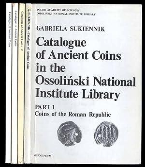 Katalog starozytnych monet w zbiorach Biblioteki Zakladu