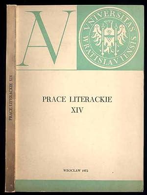Acta Universitatis Wratislaviensis. Prace Literackie. Nr 14