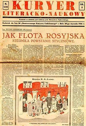 Kuryer Literacko-Naukowy. R.13 (1936). Nr 3, 6,