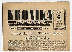 Kronika Polski i Swiata. Ilustrowane Pismo Tygodniowe.