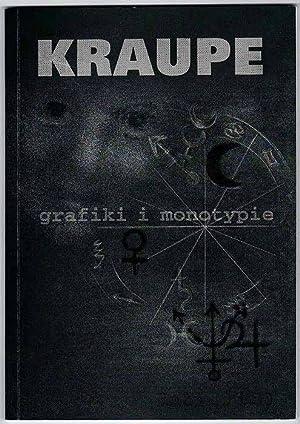 Janina Kraupe. Grafiki monotypie (lata 40. i
